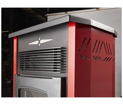 k50 le po le granul s le plus puissant de la gamme prisma. Black Bedroom Furniture Sets. Home Design Ideas